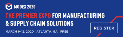 Modex 2020: The Premier Expo for Manufacturing & Supply Chain Solutions